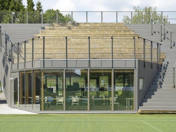 Стадион Lidingövallen авторства DinellJohansson) . Изображение № 18.