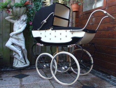 Ретро – kinderwagen, stroller илидетская коляска. Изображение №5.