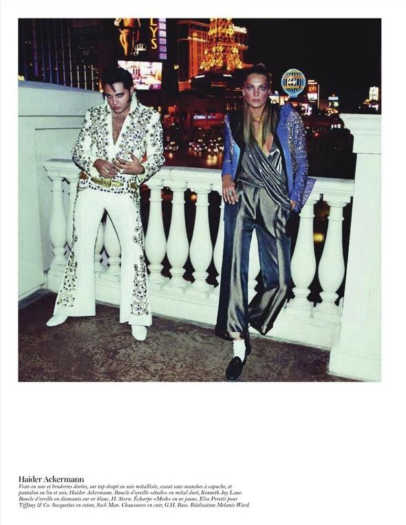 Съёмка: Дарья Вербова для французского Vogue. Изображение № 19.