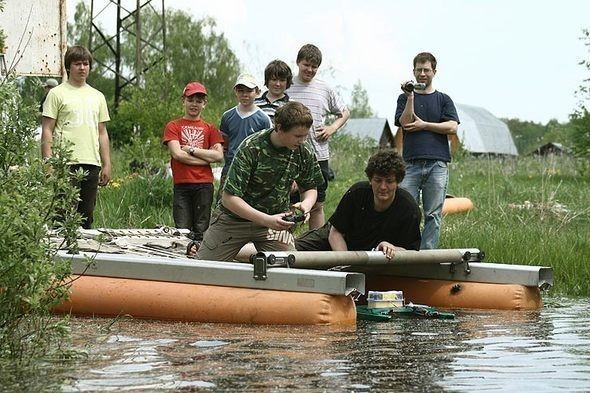 Изображение 9. Юные конструкторы на испытаниях.. Изображение № 8.