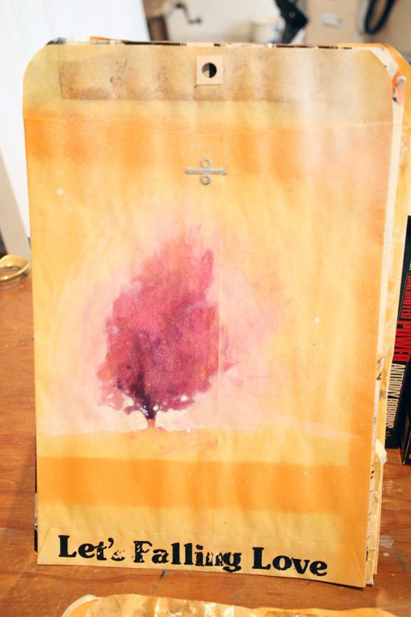 Изображение 27. Рисунки на конвертах Sage Vaughn.. Изображение № 27.
