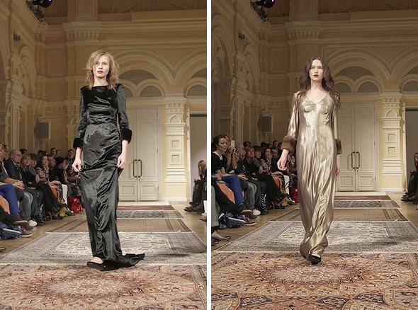 Изображение 17. A'la Russe FW 2011: пальто в пол и широкие брюки.. Изображение № 17.