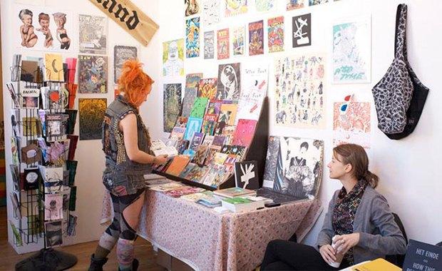 Чем для меня важна крупнейшая выставка артбуков и фанзинов. Изображение № 4.
