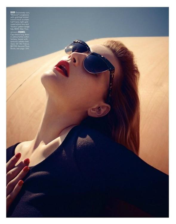 Съёмка: Жиневье ван Синус для Bergdorf Goodman. Изображение № 7.