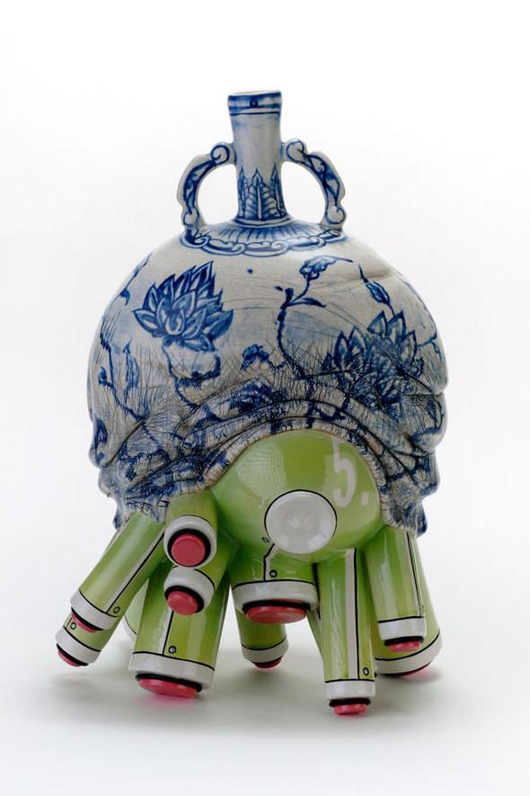 Изображение 2. Кибер-керамика Брендана Танга.. Изображение № 2.