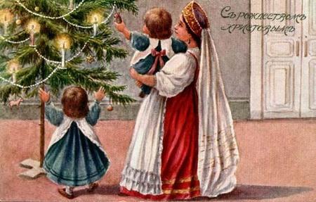 Новогодняя ирождественская открытка. Изображение № 20.