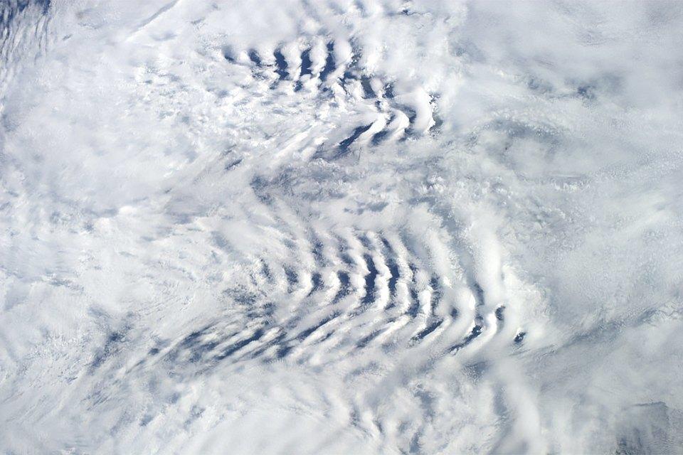 Облака из космоса: Какой видят Землю космонавты МКС. Изображение № 9.
