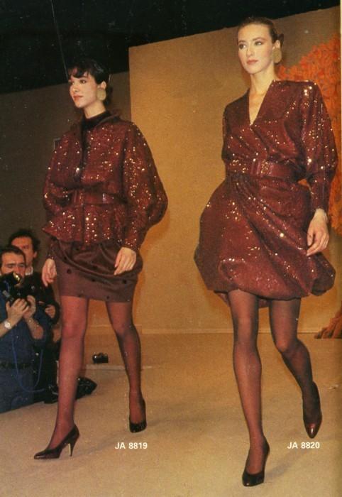 Женская мода 1980-х. Изображение № 3.