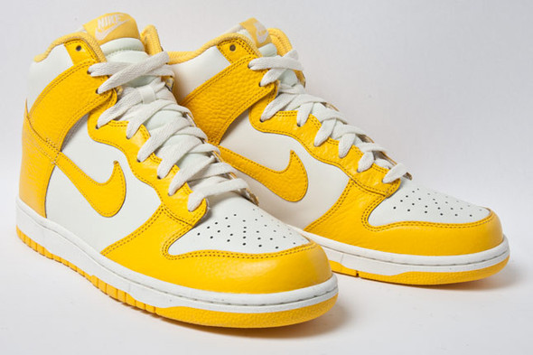NIKE DUNK HIGH (VARSITY MAIZE). Изображение № 1.