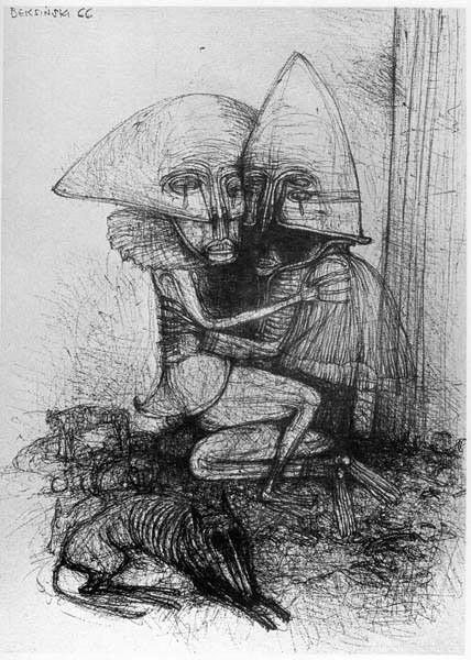 Архив работ Ждислава Бексински. Изображение № 33.