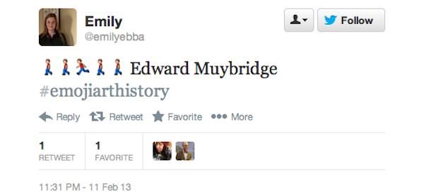 В Twitter появился тег #EmojiArtHistory. Изображение № 4.