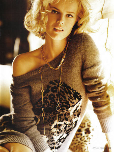 EvaHerzigova, Elle Italy July 2009. Изображение № 3.
