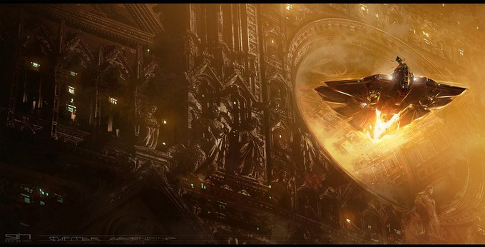 Художник «Восхождения Юпитер» выложил концепты к фильму. Изображение № 23.
