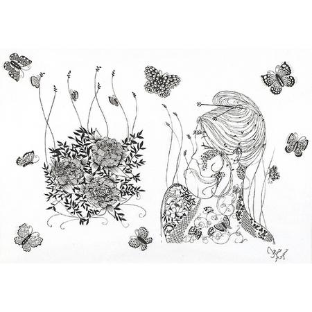 Вырезанные избумаги картины – Hina Aoyama. Изображение № 3.