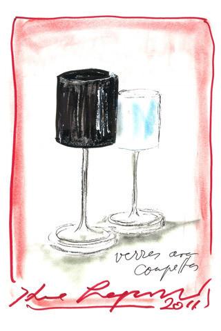 Изображение 1. Карл Лагерфельд создал коллекцию посуды.. Изображение № 1.