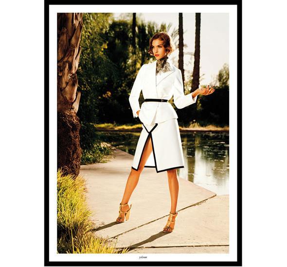 Изображение 14. Рекламные кампании: Lacoste, S by Max Mara, YSL и другие.. Изображение № 15.