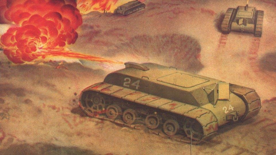 Каким представляли идеальное оружие массового уничтожения в 30-е годы. Изображение № 3.