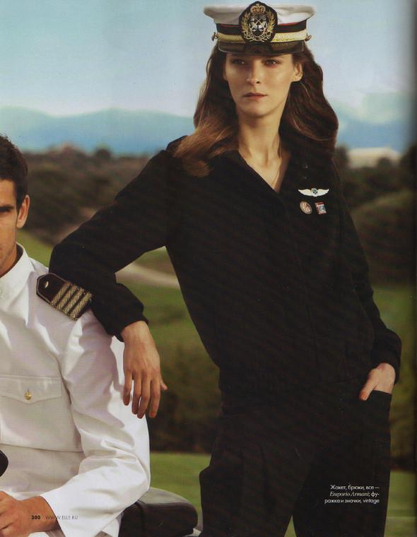 Съёмка: Кармен Касс для российского Elle. Изображение № 9.