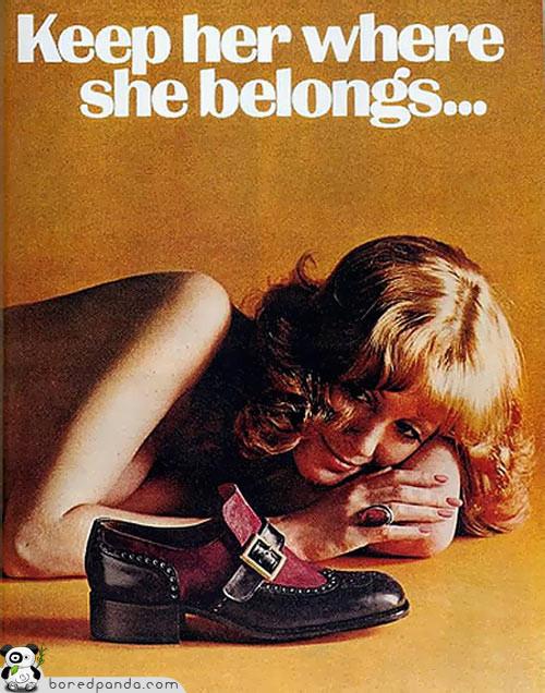 Винтажная реклама, которую запретили бы сегодня. Изображение № 12.