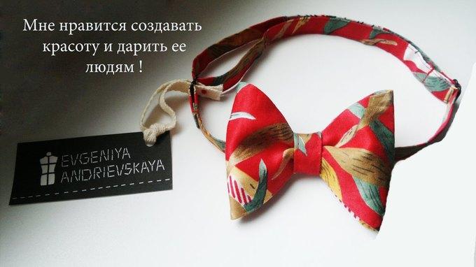 Фееричные галстуки - бабочки от дизайнера Евгении Андриевской.. Изображение №5.
