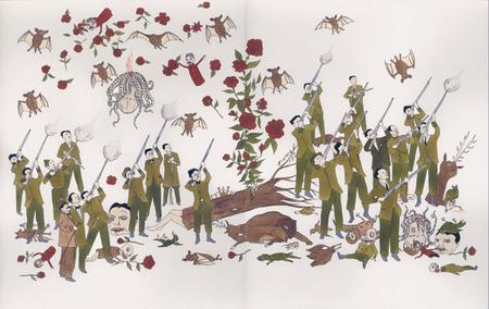 Канадский художник Marcel Dzama. Изображение № 3.