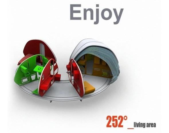 Дом на колесах: 252 Living Area. Изображение № 2.