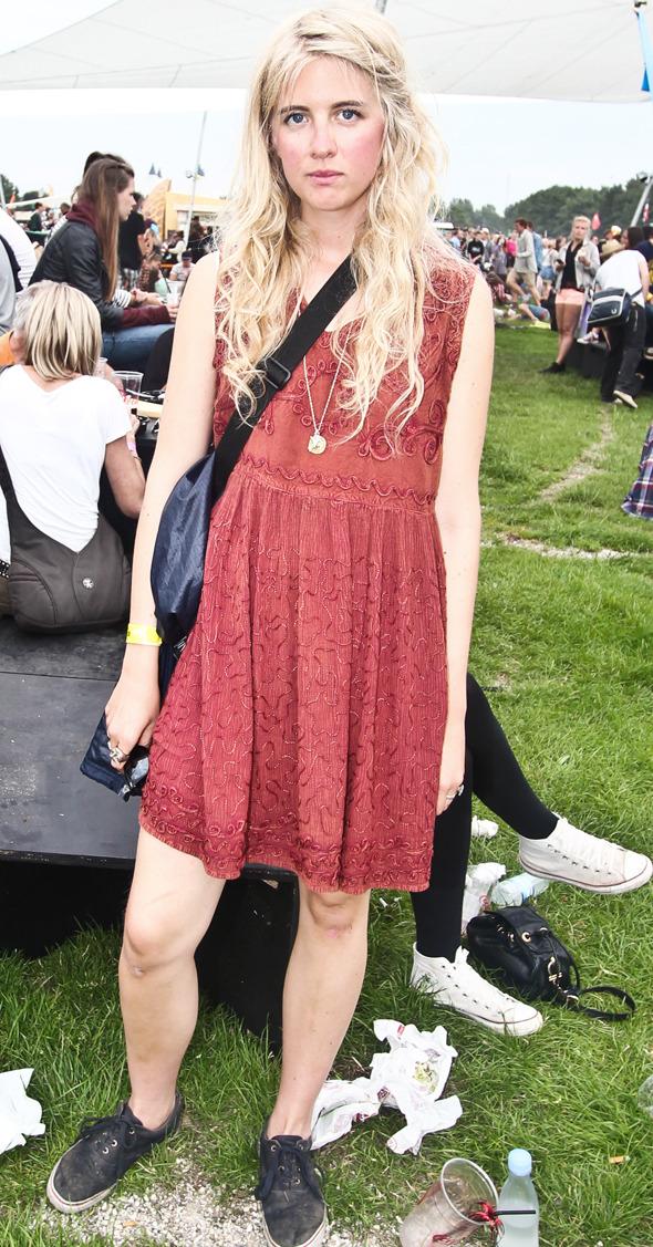 Индейские перья, фуражки и перстни: Люди на фестивале Roskilde. Изображение № 19.