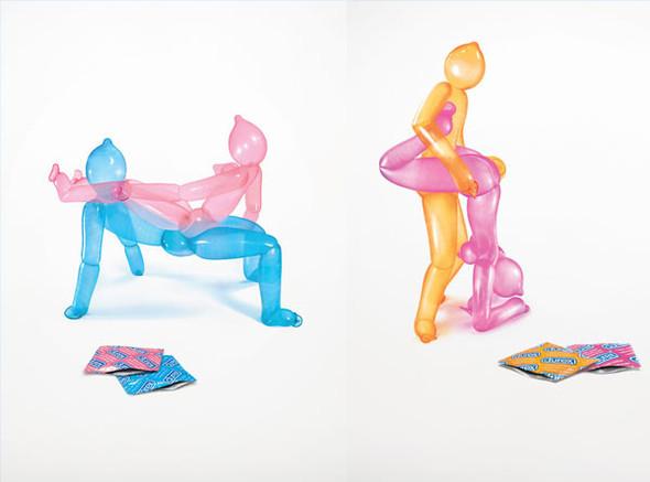 44 лучших рекламных постеров с презервативами. Изображение №21.