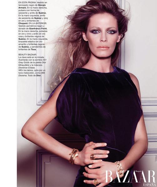 Съёмка из Harper's Bazaar. Изображение № 10.