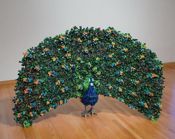 """""""Пиксельные"""" скульптуры Shawn Smith. Изображение № 2."""