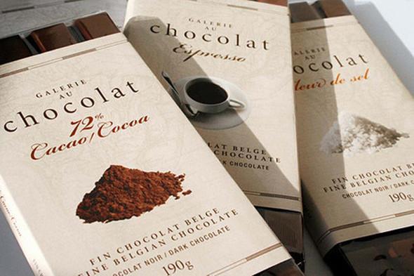 Dolce Vita! Винтажные обертки для шоколада и конфет. Изображение № 17.