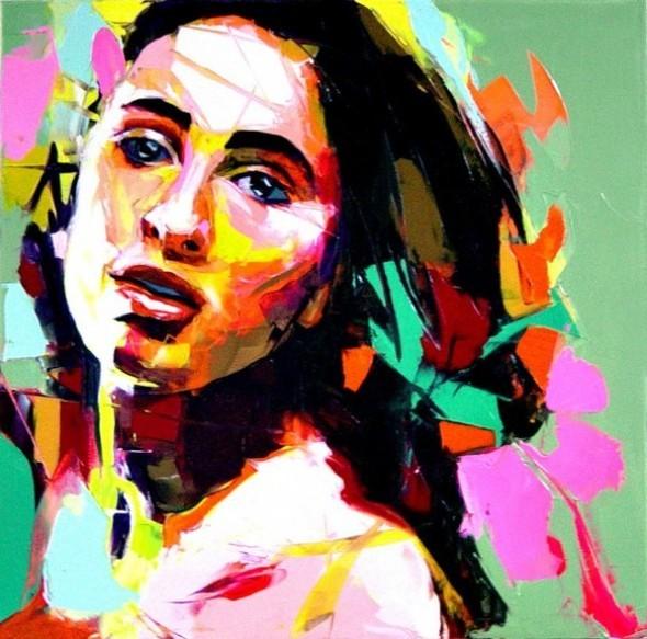 Красочные портреты Франсуазы Нилли. Изображение № 13.