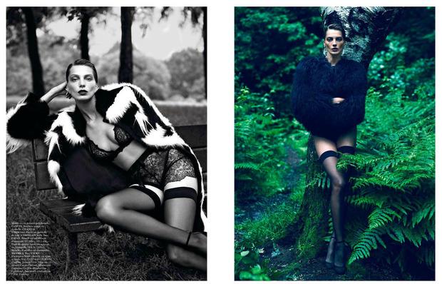 Новые съемки Dazed & Confused, Vogue, i-D и W Magazine. Изображение № 33.