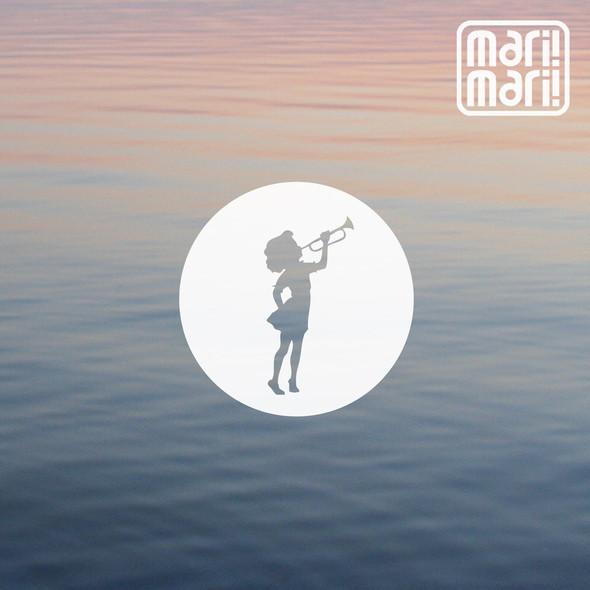 """обложка песни """"Cтихи"""" логотип - Дарья Чикурова  обложка - Марина Адырхаева. Изображение № 3."""