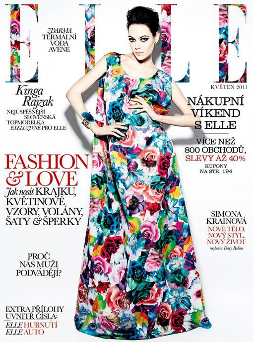 Изображение 5. Обложки: Elle, Harper's Bazaar и L'Officiel.. Изображение № 2.