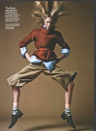 Съёмка в журнале Madame Figaro, октябрь 2011. Изображение № 60.