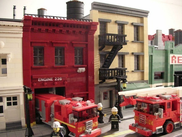 Изображение 6. Улицы Нью-Йорка из конструктора LEGO.. Изображение № 6.
