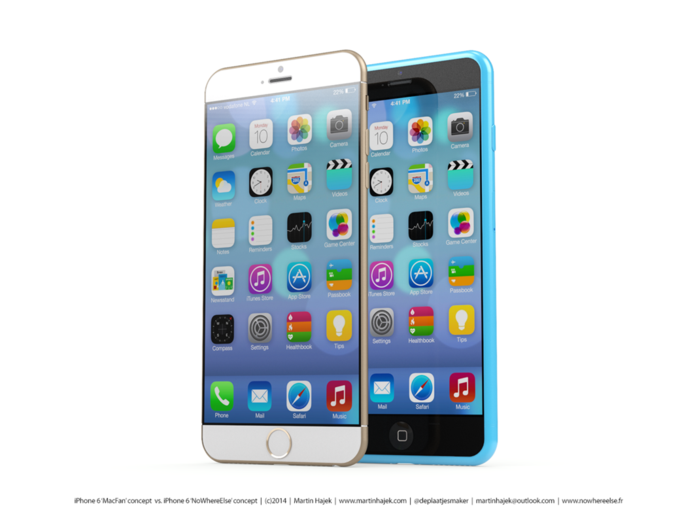 Дизайнер создал концепты iPhone 6s и 6c на основе «слива» из японского журнала. Изображение № 6.