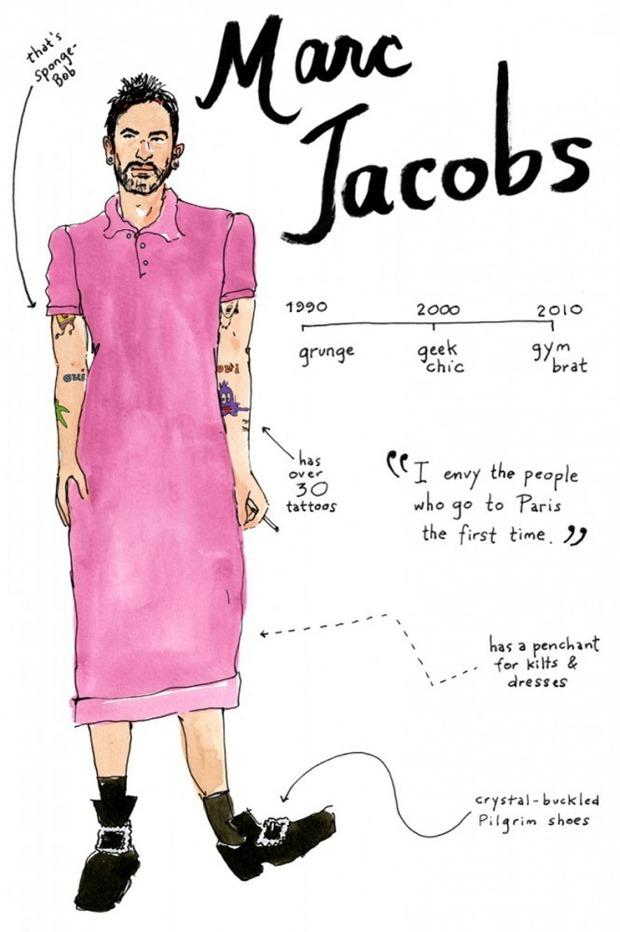 Иллюстрации икон моды от Джоаны Авильес. Изображение № 8.