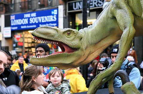 """""""Dinosaurs unleashed"""" или динозавры в Лондоне. Изображение № 8."""
