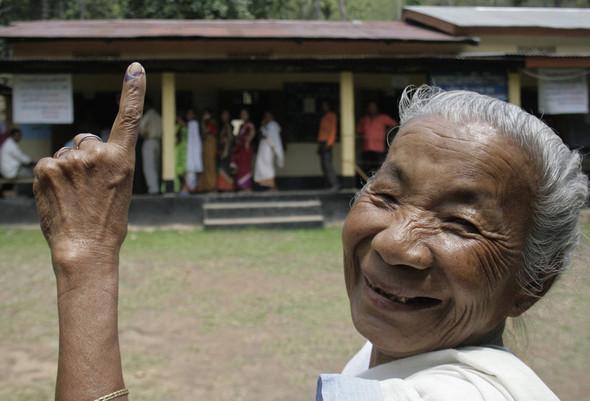 100 лет выборов в документальных фотографиях. Изображение № 110.
