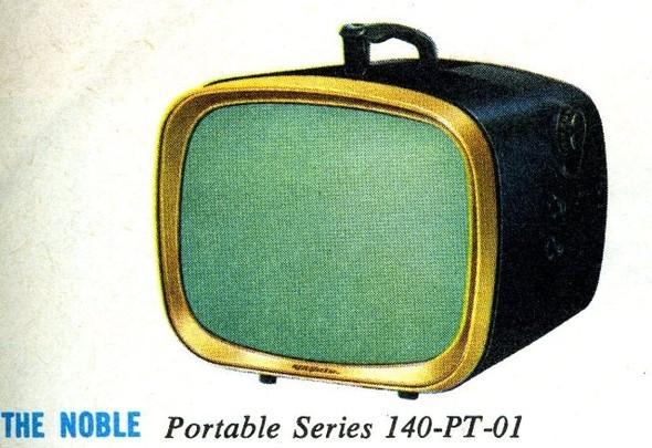 Телевизоры 1960х годов. Изображение № 1.