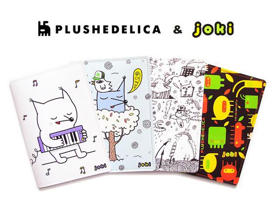 Коллекция обложек joki дизайн plushedelica. Изображение № 1.
