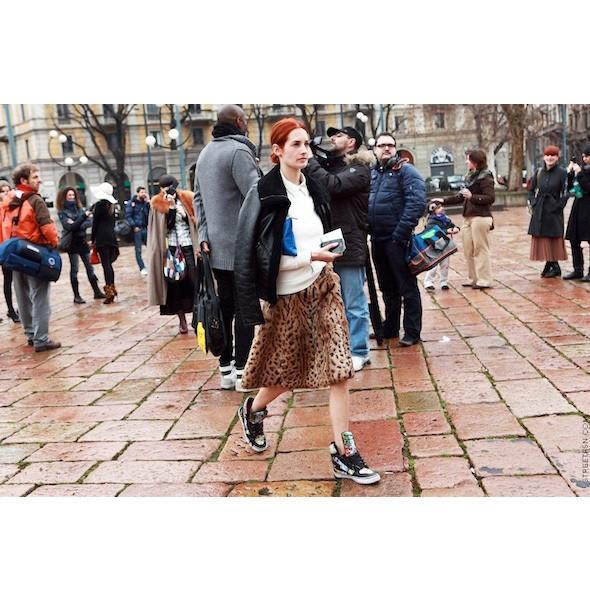 Изображение 106. На полях: 10 тенденций уличного стиля с прошедших недель моды.. Изображение № 106.