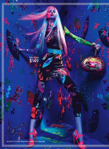 Новые снимки Versace для H&M. Изображение № 1.