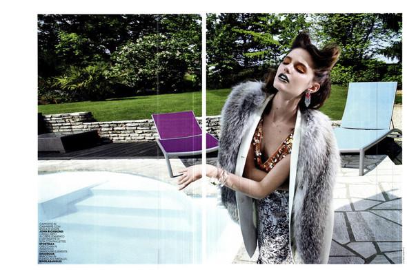 Съёмка: Кэти Фогарти для Marie Claire. Изображение № 2.