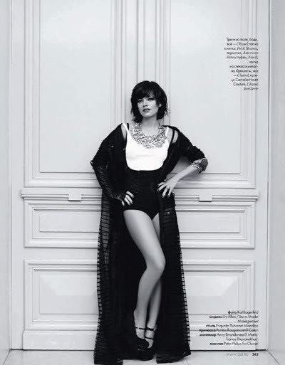 Lily Allen by Karl Lagerfeld for Elle december09. Изображение № 4.