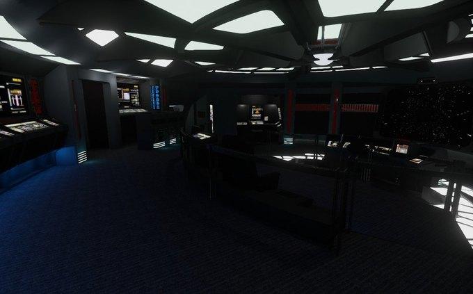 Капитанский мостик корабля из «Звёздного пути» создали для Oculus Rift . Изображение № 2.