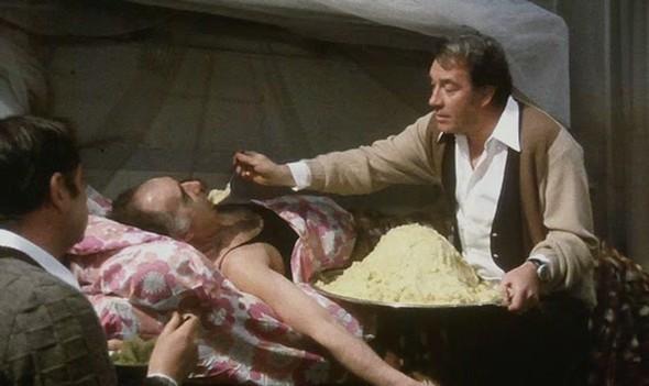 Lagrande bouffe Большая жратва 1973. Изображение № 1.