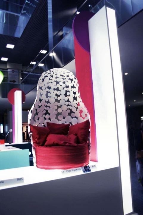 Кресло-матрёшка с выставки SaloneSatellite. Изображение № 4.